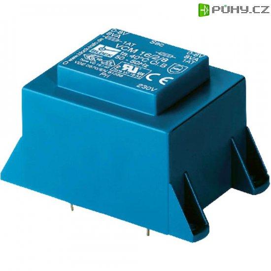 Transformátor do DPS Block EI 60/25,5, 230 V/2x 6 V, 2x 2,08 A, 25 VA - Kliknutím na obrázek zavřete
