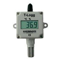 Teplotní datalogger Greisinger T-Logg 160, -25,0 až +60,0 °C, 115890