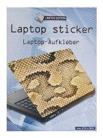 Samolepící dekorace na notebook Hadí kůže