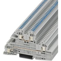 Vícenás. instalační svorka Phoenix Contact UTI 2,5-L/N (3076035), šroubovací, šedá