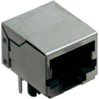 Konektor do DPS BEL Stewart Connectors SS64100-014F, zásuvka vestavná, Snap-In