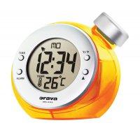 Hodiny digitální na vodní pohon Orava BD 502 orange, oranžové