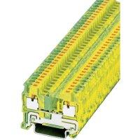 Svorka Push-in Phoenix Contact PIT 2,5-PE (3209536), s ochranným vodičem, 5,2 mm, zel/žlut