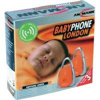 Dětská chůvička Ansmann London, 5070063-510, 150 m, 40,665-40,695 MHz