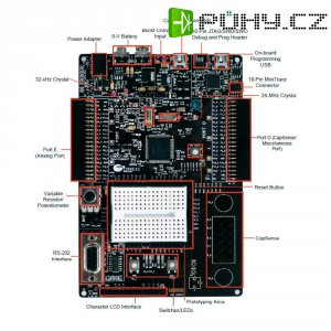Vývojový kit Cypress Semiconductor CY8CKIT-050B, PSoC 5LP