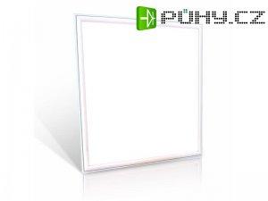 LED světelný panel, 45W, 60x60cm, 5400lm, 4000K + zdroj