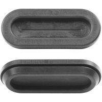 Kabelová průchodka membránová PB Fastener 1098-01, černá
