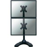 """Stolní držák se stojanem na 2 monitory nad sebou NewStar Products FPMA-D700DDV, 25,4 cm (10\"""") - 68,6 cm (27\""""), černá"""