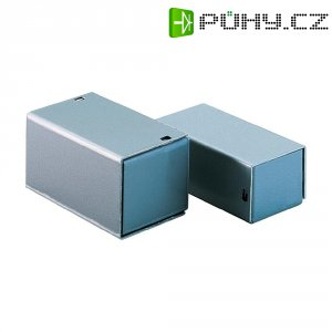 Malé hliníkové pouzdro TEKO 4 B, (š x v x h) 140 x 44 x 72 mm, stříbrná (B)