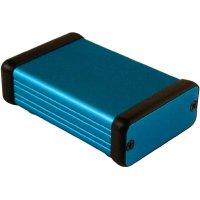 Univerzální pouzdro hliníkové Hammond Electronics, (d x š x v) 80 x 54 x 23 mm, modrá