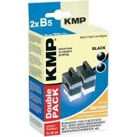 Toner inject KMP B5D = 2X BROTHER LC-900BK černá