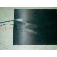 Gumová rohožka na kabeláž, 100 x 250 cm černá