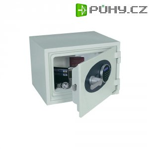 Ohnivzdorný trezor s ochranou proti vniku Phoenix 1250, 420x 300 x 360 mm, bílá