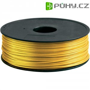 Náplň pro 3D tiskárnu, Renkforce ABS300J1, ABS, 3 mm, 1 kg, zlatá