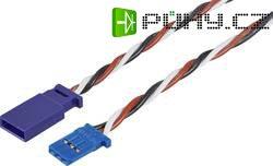 Prodlužovací kabel Modelcraft, konektor Futaba, 25 cm, 0,5 mm²