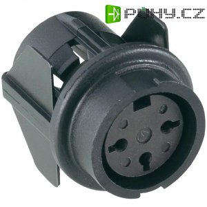 Přístrojová zásuvka C091/B Snap-in Amphenol T 3437 500, 7pól., 3 - 6 mm, IP40