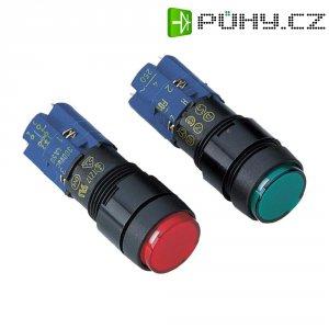 Prosvícené tlačítko zelené 250 V