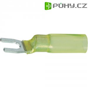 Izolovaná kabelová vidlice, M5, 4 - 6 mm², žlutá