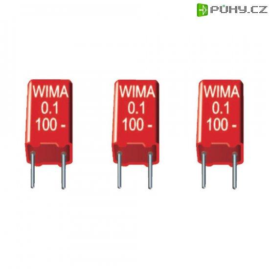 Fóliový kondenzátor MKS Wima MKS 2, 0,022 uF, 250 V, 5 mm, 0,022 µF, 250 V, 20 %, 7,2 x 2,5 x 6,5 mm - Kliknutím na obrázek zavřete