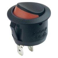 Kolébkový spínač R13-112A2 B/B/R, 1x vyp/zap, 250 V/AC, 6 A