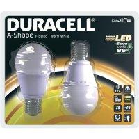LED žárovka Duracell, 01714, E27, 6 W, 230 V, teplá bílá