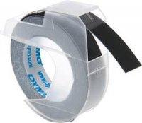 Páska do štítkovače DYMO S0898130, 9 mm, Prägeband, 3 m, bílá/černá