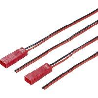 Napájecí kabel Modelcraft, BEC zástrčka, 0,14 mm², 1 pár