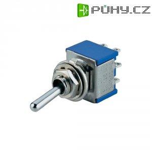 Klopný páčkový spínač SCI TA201A1, 250 V/AC, 3 A, 2x vyp/zap, 1 ks