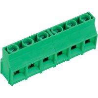 Pájecí šroub. svorka 6nás. AKZ841/6-9.52-V (50841060201D), 9,52 mm, zelená