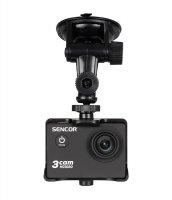 Držák a nabíječka do auta pro kameru akční SENCOR 3CAM 4K01W Outdoor - CAR SET
