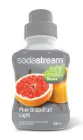 Sirup Stevia růžový grep light 500 ml SODASTREAM