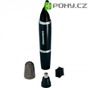 Zastřihovač nosních a ušních chloupků Grundig MT5210, nerez/černá