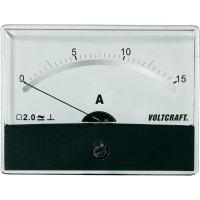 Analogové panelové měřidlo VOLTCRAFT AM-86X65/15A/DC 15 A