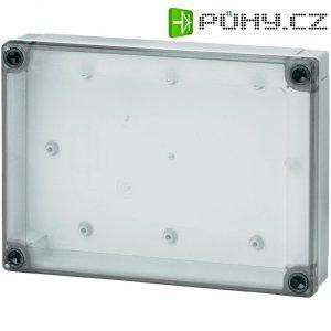 Polykarbonátové pouzdro MNX Fibox, (d x š x v) 180 x 130 x 35 mm, šedá (MNX PC 150/35 LT)