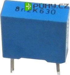 8n2/630V TC356, svitkový kondenzátor radiální, RM=7,5mm