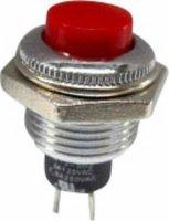 Tlačítko SCI, R13-502MA-05RT, 250 V/AC, 1,5 A, vyp./(zap.), červená