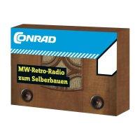 Středovlnné retro rádio 10092, od 14 let (stavebnice)