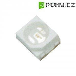 SMD LED PLCC2, 61000114, 20 mA, 3 V, 120 °, 400 mcd, modrá, 3528