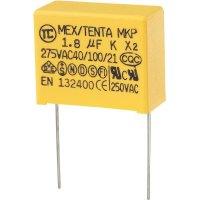 Foliový kondenzátor MKP, 1,8 µF, X2 275 V/AC, 10 %, 32 x 14 x 25 mm