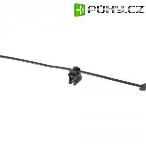 Stahovací psáky HellermannTyton T50ROS-EC10, 200 x 4,6 mm, černá