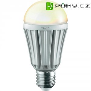 LED žárovka Sygonix, E27, 12 W, 230 V, 122 mm, stmívatelná, teplá bílá