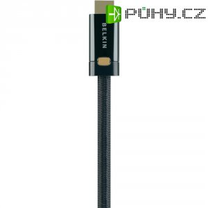 HDMI Belkin High Speed kabel ProHD4000 s ethernetem, pozl. kontakty, 2 m