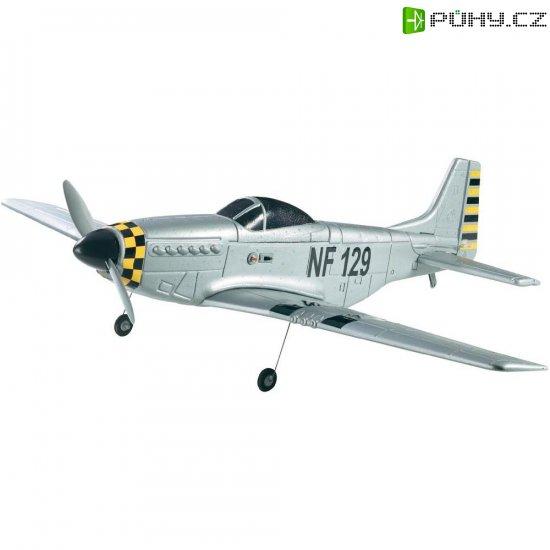 RC model letadla Reely P-51 Mustang, 870 mm, RtF, 2,4 GHz - Kliknutím na obrázek zavřete