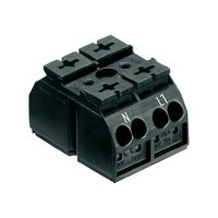 Svorka Wago 862-1552, 0,5- 4 mm², 2pólová, černá