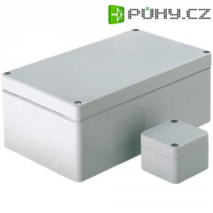 Skříň Euromas Bopla, (d x š x v) 65 x 50 x 37 mm, šedá (T 206)
