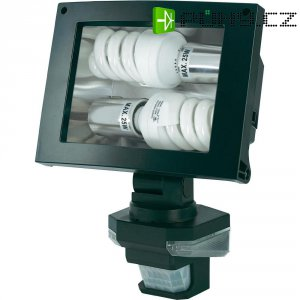 Reflektor s detektorem pohybu,E27, max. 2x 25 W, černá