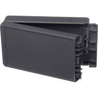 Univerzální nástěnné pouzdro ABS Bopla 96035224, (d x š x v) 125 x 231 x 60 mm, šedá