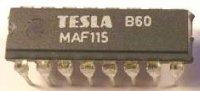 MAF115 - obvod pro otáčkoměry, DIL16