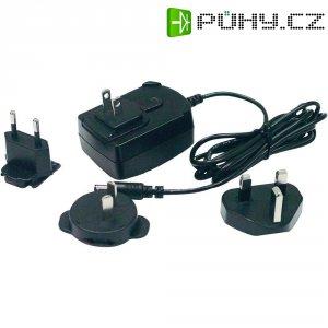 MiniUSB nabíječka se sadou zásuvkových vidlic Phihong PSAC05R-050(MB)