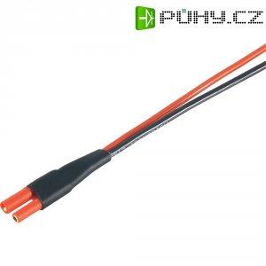 Napájecí kabel Modelcraft, 2 mm konektor zástrčka/zásuvka, 300 mm, 1,5 mm²